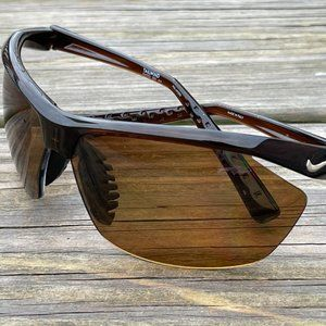 Nike Men Sunglasses Polarized Tailwind Wrap Eye We